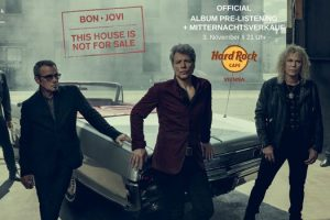 Bon Jovi Album Pre-Listening im Hard Rock Cafe Wien