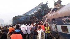 Mindestens 90 Tote bei Zugsunglück in Indien