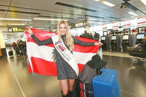 Miss Austria 2016: Dragana Stankovic hebt zur Miss-World-Wahl in Washington ab