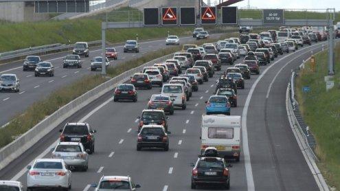 Außenringautobahn Richtung Wien war nach Unfall gesperrt