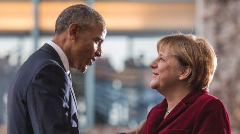 Obama: Das deutsche Volk sollte Angela Merkel wertschätzen