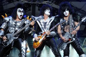 Kiss rocken am 21. Mai 2017 live in der Wiener Stadthalle