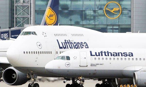 Die Lufthansa streikt, Flüge fallen aus.