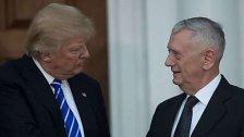 Trump macht Mattis zu Verteidigungsminister