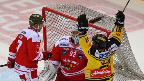 Vienna Capitals führen in EBEL nach Sieg gegen den HCB Südtirol