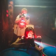 VIENNA.at in Lasertag-Action bei MAXX Entertainment