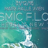 Silvesterparty in der Marx Halle: Cosmic Flow - Psychedelic New Year