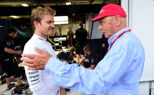 Lauda war vom Rücktritt Rosbergs überrascht