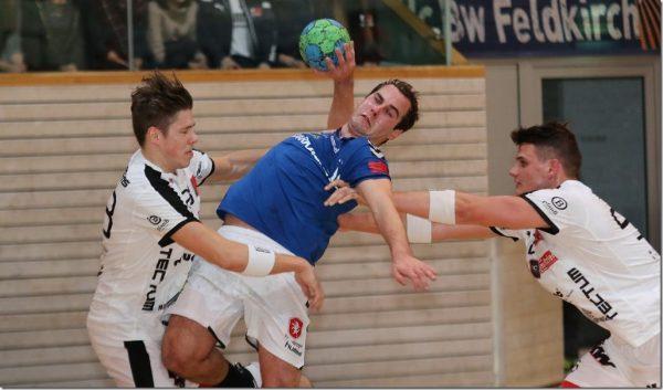 Feldkirchs Handballer gewinnen sensationell Derby gegen Hohenems