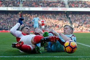 Arsenal besiegte nach Elferdrama im Finish Burnley mit 2:1