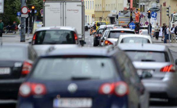 Staus drohen auf dem Weg zum Messezentrum Wien
