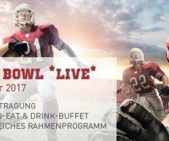 Super Bowl Night im ARCOTEL Wimberger am 5. Februar 2017