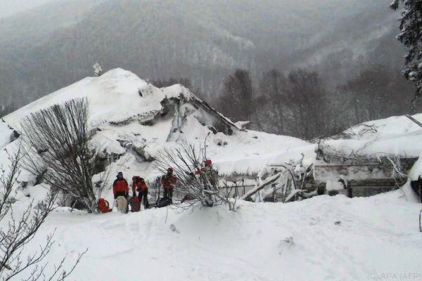 Auch das Hotel Rigopiano lag in Erdbebenregion