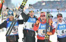 Österreichs Herren- Staffel holte WM-Bronze