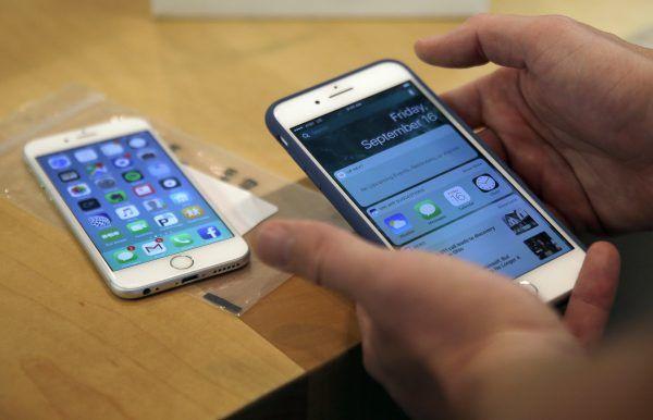 Betroffen ist hauptsächlich das mattschwarze iPhone 7 Plus.