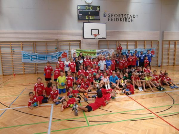 Schnuppertraining bei Feldkirchs Handballern