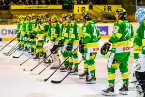 EHC Lustenau startet in Jesenice ins Play-off