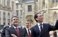 Kern und Kurz treffen sich mit D-Außenminister Gabriel