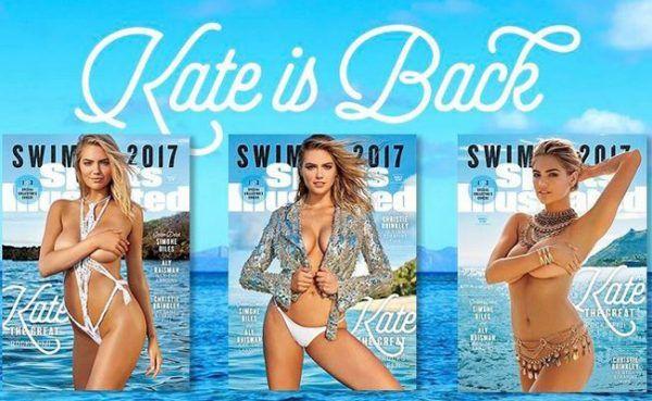 Aller guten Dinge sind drei: Kate Upton ist zurück auf dem Cover der «Sports Illustrated Swimsuit»