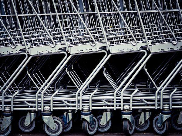 Ein Schlüssel reicht, um an einen Einkaufswagen zu kommen.