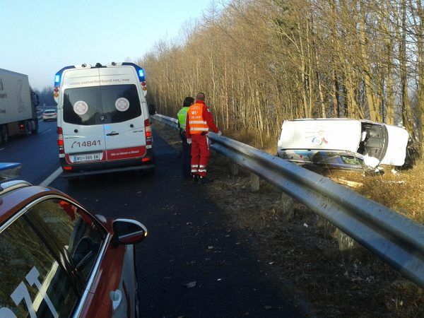 Schwerer Unfall am Mittwoch.