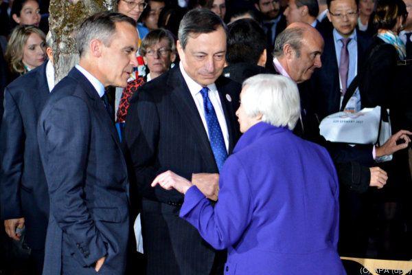 G20-Finanzminister ringen um eine für alle akzeptable Formulierung