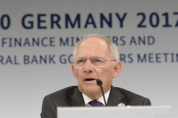 """Schäuble sieht den Prozess """"eher gestärkt"""""""