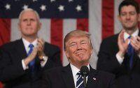 Zahmer Trump ruft bei Rede zu Zusammenarbeit auf
