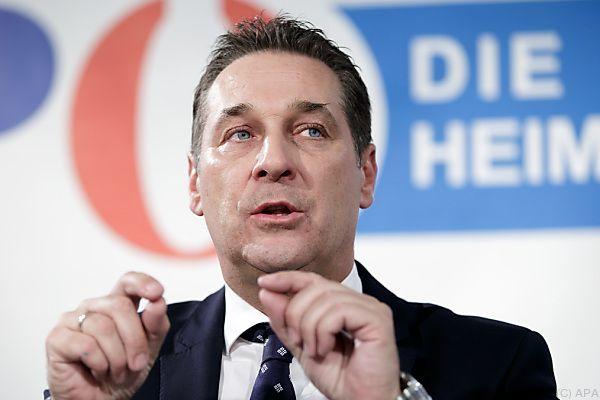 Heinz-Christian Straches Wiederwahl steht an
