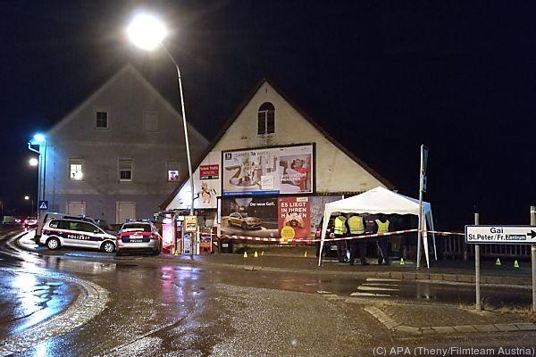 Polizei schoss drei Mal in Richtung des 59-Jährigen