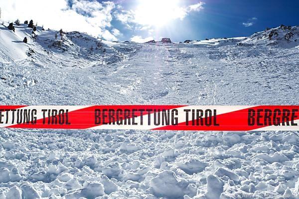 Zweiter Lawinenabgang mit Todesopfern in wenigen Tagen in Tirol