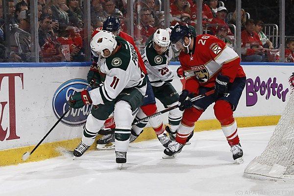 Vanek war bei drei Gegentreffern auf dem Eis