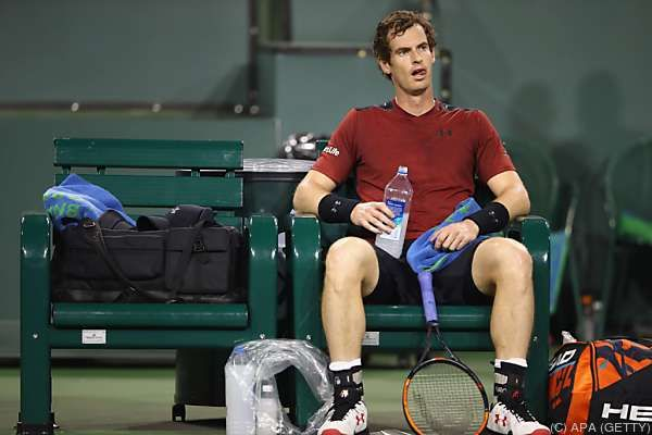 Ratlosigkeit bei Andy Murray