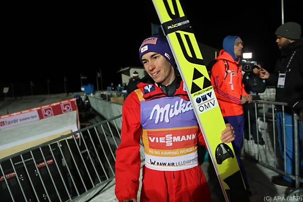 Kraft knüpfte da an, wo er in Lillehammer aufgehört hat