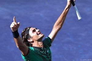 Federer triumphierte nach Melbourne auch in Indian Wells