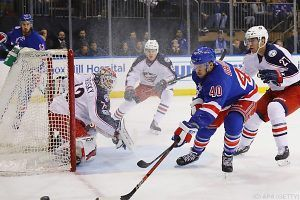 Rangers verloren mit Grabner New-York-Derby in der NHL