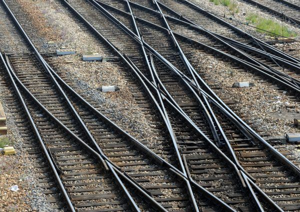 """Auf der Südbahnstrecke war am Donnerstag ein """"geisterzug"""" unterwegs."""