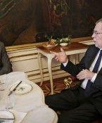 Bundespräsident Van der Bellen empfing Arnold Schwarzenegger in Wien