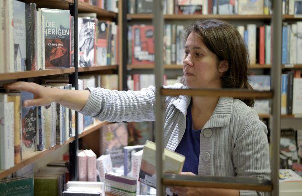 Buchhändlerin Petra Hartlieb darf sich über den Preis freuen