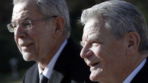 """""""Sympathieträger"""" Van der Bellen von Gauck empfangen"""