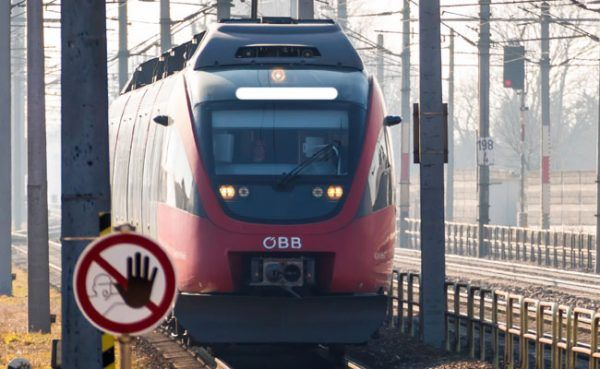 Der Zug, in dem man den Toten fand, war von Bratislava nach Wien unterwegs