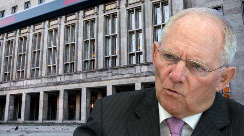 Sprengstoff-Paket im deutschen Finanzministerium gefunden