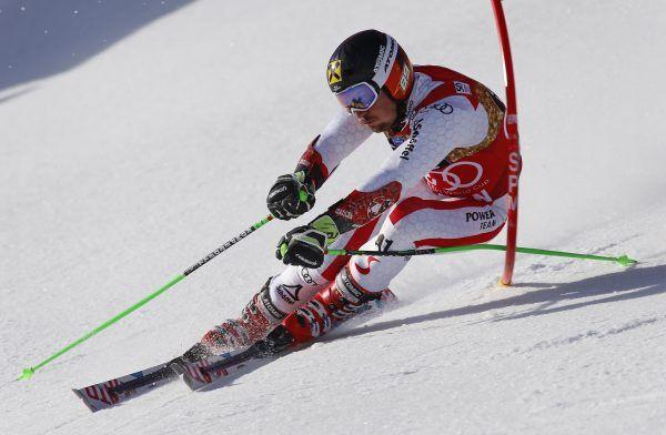 Marcel Hirscher feiert beim Weltcupabschluss in Aspen seinen 45. Weltcupsieg.