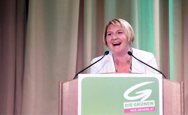 Helga Krismer ist erstmals Spitzenkandidatin der Grünen.