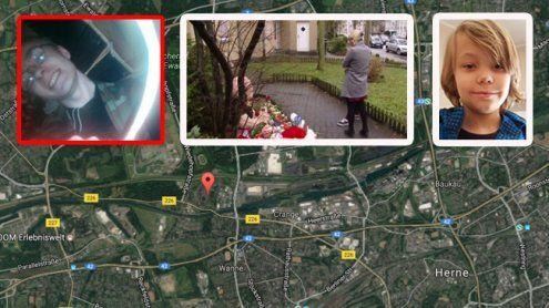 Ein Stadt unter Schock: Herne trauert um den kleinen Jaden (9)