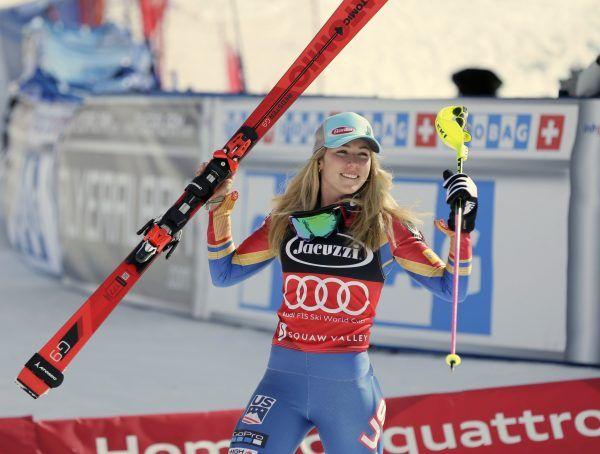 Skirennläuferin Mikaela Shiffrin steht als Gesamtweltcupsiegerin fest.