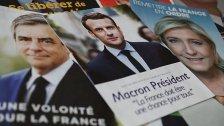Vorsprung von Macron vor Le Pen in Umfragen
