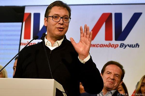 Vucic wird sein Amt Ende Mai antreten