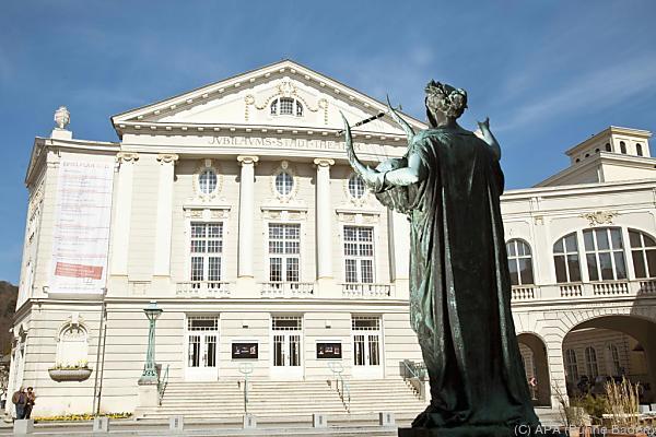 Das Stadttheater in Baden