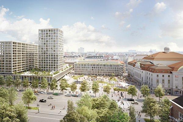 Die Neugestaltung des Areals wird von den Wiener Grünen abgelehnt